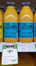 The Juice Brothers 500mL Orange