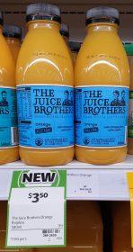 The Juice Brothers 500mL Orange Pulp Free