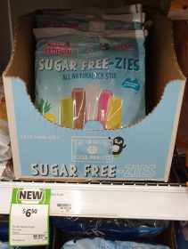 The No Nasties Icicle Project 15 X 60mL Sugar Free Zies