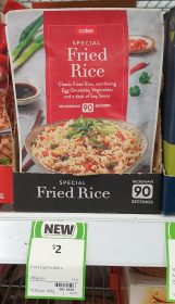 Coles 250g Special Fried Rice