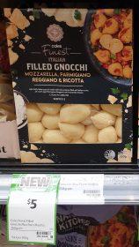 Coles 350g Finest Italian Filled Gnocchi Mozzarella Parmigiano Reggiano Ricotta