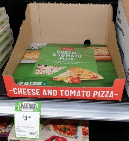 Coles 470g Pizza Cheese Tomato