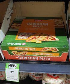 Coles 500g Pizza Hawaiian