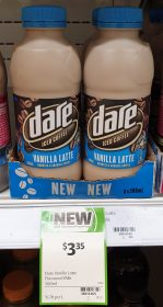 Dare 500mL Ice Coffee Vanilla Latte