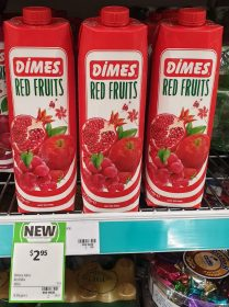 Dimes 1L Fruit Mix Drink Red Fruits
