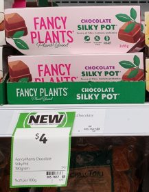 Fancy Plants 190g Silky Pot Chocolate