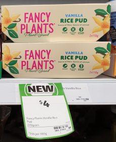Fancy Plants 220g Rice Pud Vanilla