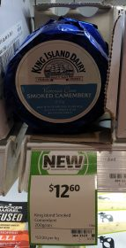 King Island Dairy 200g Camembert Smoked