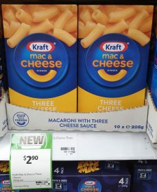 Kraft 205g Mac Cheese Three Cheese