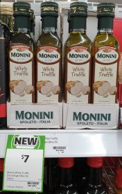 Monini 250mL Extra Virgin Olive Oil White Truffle