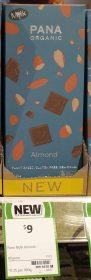 Pana Organic 80g Mylk Almond