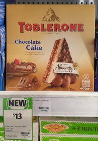 Toblerone 400g Chocolate Cake