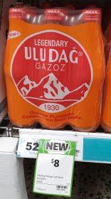 Uludag Gazoz 6 X 250mL Soft Drink Orange Flavoured