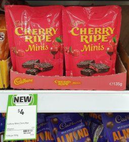 Cadbury 135g Minis Cherry Ripe