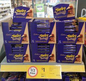 Cadbury 40g Twirl Breakaway