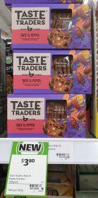 Coles 100g Taste Traders Crackers Date Pepita