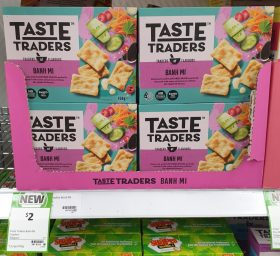 Coles 150g Taste Traders Snacks Banh Mi
