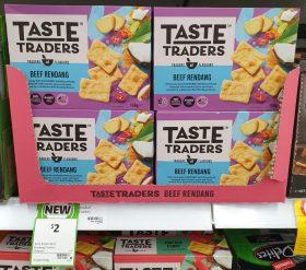 Coles 150g Taste Traders Snacks Beef Rendang