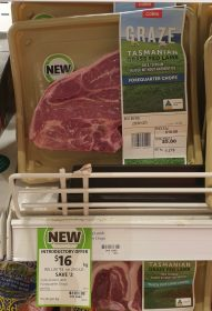 Coles 18 Kg Graze Tasmanian Grass Fed Lamb Forequarter Chops