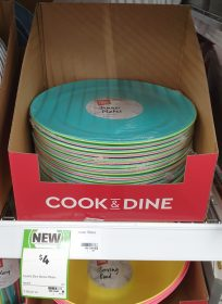 Coles 4 Pack Cook Dine Dinner Plates