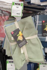 Coles 5 Pack Cook Dine Tea Towels Herringbone