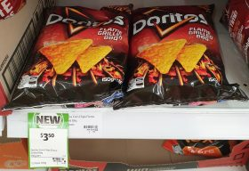 Doritos 150g Corn Chips Flame Grilled BBQ