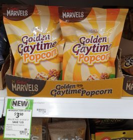 Griffins 100g Golden Gaytime Popcorn