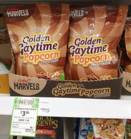 Griffins 100g Golden Gaytime Popcorn Chocolate