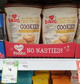 I Love Food Co 185g I Love Baking Cookies Caramelised White Choc Chunk