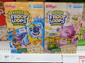 Kelloggs 285g Froot Loops Aussie