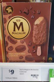 Magnum 360mL Mochaccino Cookie