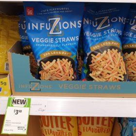 Majans 100g Infuzions Veggie Straws
