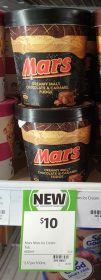 Mars 460mL Creamy Malt Chocolate Caramel Fudge