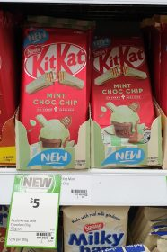 Nestle 170g KitKat Ice Cream Inspired Mint Choc Chip