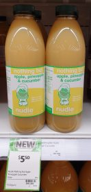Nudie 1L Nothing But Apple Pineapple Cucumber