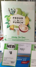 Proud Punch 450mL Coconut Pops Pining For Lime