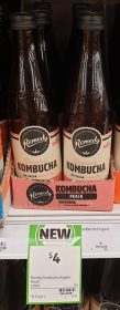 Remedy 330mL Kombucha Peach