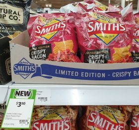 Smiths 150g Potato Chips Crispy Bacon