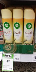 Air Wick 237g Air Freshener Vanilla