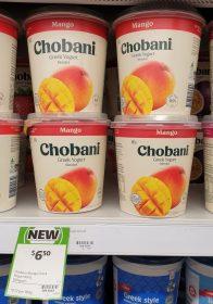 Chobani 907g Greek Yogurt Mango