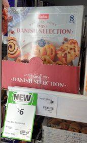 Coles 364g Bake At Home Danish Selection Mini