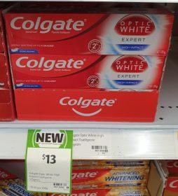 Colgate 125g Toothpaste Optic White Expert High Impact