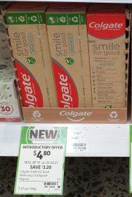 Colgate 95g Smile For Good Toothpaste Natural White