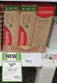 Colgate 95g Smile For Good Toothpaste Protection