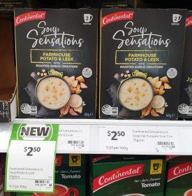 Continental 60g Soup Sensations Farmhouse Potato Leek 1