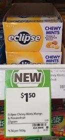 Eclipse 27g Chewy Mints Mango Passionfruit Flavour