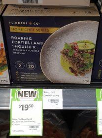 Flinders Co 475g Home Chef Series Roaring Forties Lamb Shoulder