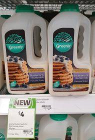 Greens 325g Temptations Pancake Shake Blueberry Buttermilk
