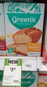 Greens 400g Banana Bread Classic