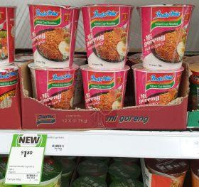 Indomie 75g Instant Cup Noodles Mi Goreng Hot Spicy 1